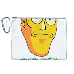 Show Me What You Got New Fresh Canvas Cosmetic Bag (XL)