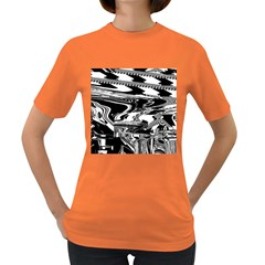 Bw Glitch 1 Women s Dark T-Shirt