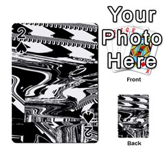 Bw Glitch 1 Playing Cards 54 Designs