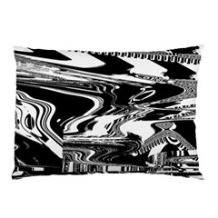 Bw Glitch 1 Pillow Cases