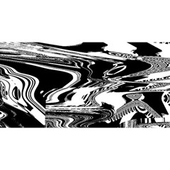 Bw Glitch 1 YOU ARE INVITED 3D Greeting Card (8x4)