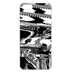 Bw Glitch 1 Apple iPhone 5 Seamless Case (White)