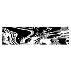 Bw Glitch 1 Satin Scarf (oblong)