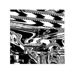 Bw Glitch 1 Small Satin Scarf (square)