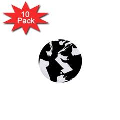 Bw Glitch 2 1  Mini Buttons (10 pack)