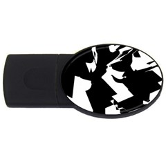 Bw Glitch 2 USB Flash Drive Oval (2 GB)