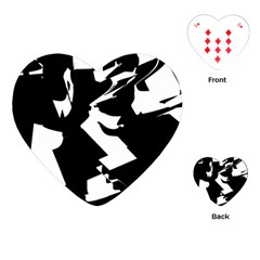 Bw Glitch 2 Playing Cards (Heart)