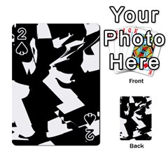 Bw Glitch 2 Playing Cards 54 Designs