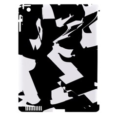 Bw Glitch 2 Apple iPad 3/4 Hardshell Case (Compatible with Smart Cover)