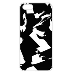 Bw Glitch 2 Apple iPhone 5 Seamless Case (White)