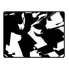 Bw Glitch 2 Double Sided Fleece Blanket (Small)