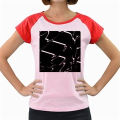 Bw Glitch 3 Women s Cap Sleeve T Shirt