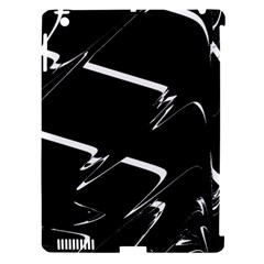 Bw Glitch 3 Apple iPad 3/4 Hardshell Case (Compatible with Smart Cover)