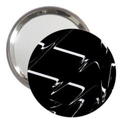 Bw Glitch 3 3  Handbag Mirrors