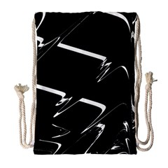 Bw Glitch 3 Drawstring Bag (Large)