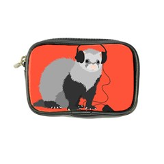 Funny Music Lover Ferret Coin Purse