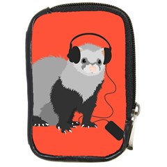 Funny Music Lover Ferret Compact Camera Cases