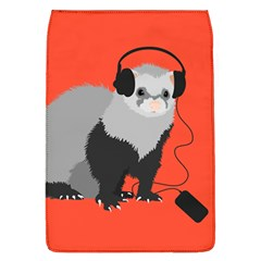 Funny Music Lover Ferret Flap Covers (l)
