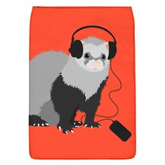 Funny Music Lover Ferret Flap Covers (s)
