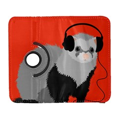 Funny Music Lover Ferret Samsung Galaxy S  Iii Flip 360 Case