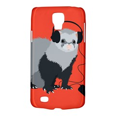 Funny Music Lover Ferret Galaxy S4 Active