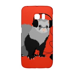 Funny Music Lover Ferret Galaxy S6 Edge