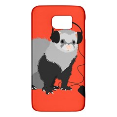 Funny Music Lover Ferret Galaxy S6