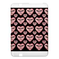 Angry Devil Hearts Seamless Pattern Kindle Fire HD 8.9