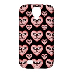 Angry Devil Hearts Seamless Pattern Samsung Galaxy S4 Classic Hardshell Case (PC+Silicone)