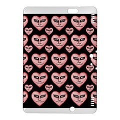Angry Devil Hearts Seamless Pattern Kindle Fire Hdx 8 9  Hardshell Case