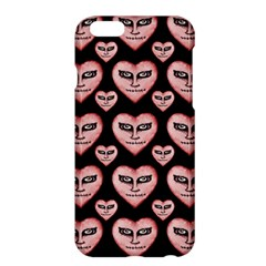 Angry Devil Hearts Seamless Pattern Apple iPhone 6 Plus/6S Plus Hardshell Case