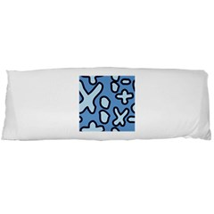 Blue Maths Signs Body Pillow Cases Dakimakura (two Sides)