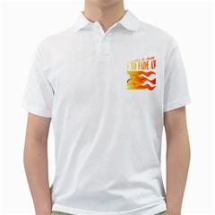 Its Better To Burn Out Than To Fade Away Golf Shirts