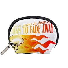 its better to burn out than to fade away Accessory Pouches (Small)