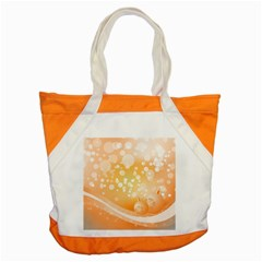 Wonderful Christmas Design With Sparkles And Christmas Balls Accent Tote Bag
