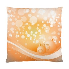 Wonderful Christmas Design With Sparkles And Christmas Balls Standard Cushion Cases (Two Sides)