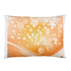 Wonderful Christmas Design With Sparkles And Christmas Balls Pillow Cases