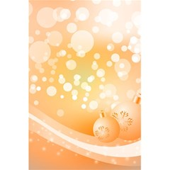 Wonderful Christmas Design With Sparkles And Christmas Balls 5 5  X 8 5  Notebooks