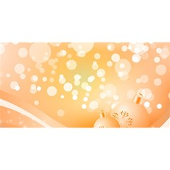 Wonderful Christmas Design With Sparkles And Christmas Balls You Are Invited 3d Greeting Card (8x4)
