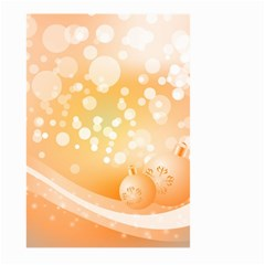 Wonderful Christmas Design With Sparkles And Christmas Balls Large Garden Flag (Two Sides)