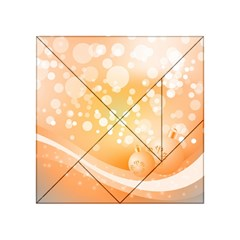 Wonderful Christmas Design With Sparkles And Christmas Balls Acrylic Tangram Puzzle (4  X 4 )