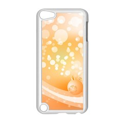 Wonderful Christmas Design With Sparkles And Christmas Balls Apple iPod Touch 5 Case (White)