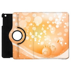 Wonderful Christmas Design With Sparkles And Christmas Balls Apple iPad Mini Flip 360 Case