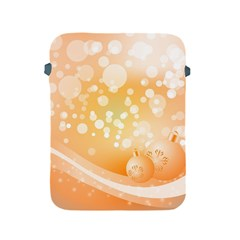 Wonderful Christmas Design With Sparkles And Christmas Balls Apple iPad 2/3/4 Protective Soft Cases