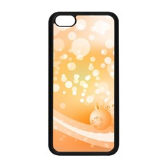 Wonderful Christmas Design With Sparkles And Christmas Balls Apple iPhone 5C Seamless Case (Black)