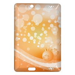 Wonderful Christmas Design With Sparkles And Christmas Balls Kindle Fire HD (2013) Hardshell Case