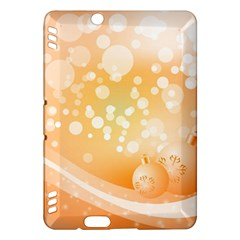 Wonderful Christmas Design With Sparkles And Christmas Balls Kindle Fire HDX Hardshell Case