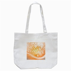 Wonderful Christmas Design With Sparkles And Christmas Balls Tote Bag (White)