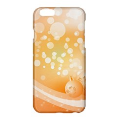 Wonderful Christmas Design With Sparkles And Christmas Balls Apple iPhone 6 Plus/6S Plus Hardshell Case