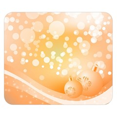 Wonderful Christmas Design With Sparkles And Christmas Balls Double Sided Flano Blanket (small)